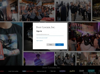 Homeview Foot Locker Store View Login