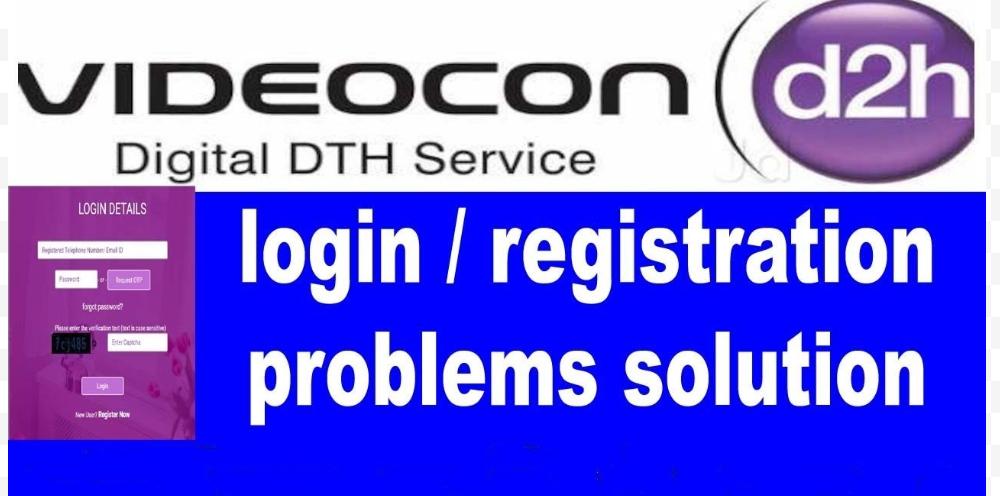 Videocon d2h login