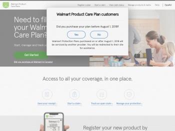 Walmart Protection Plan Login
