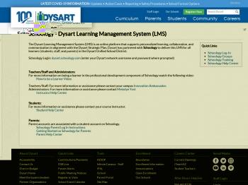 Dysart Schoology Login