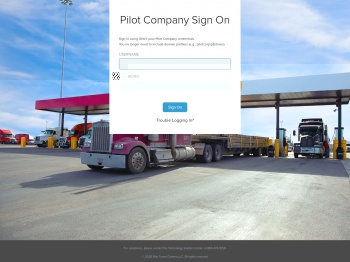 Pilot Flying J Infor Login